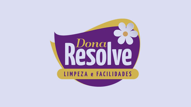 logo franquia: dona resolve
